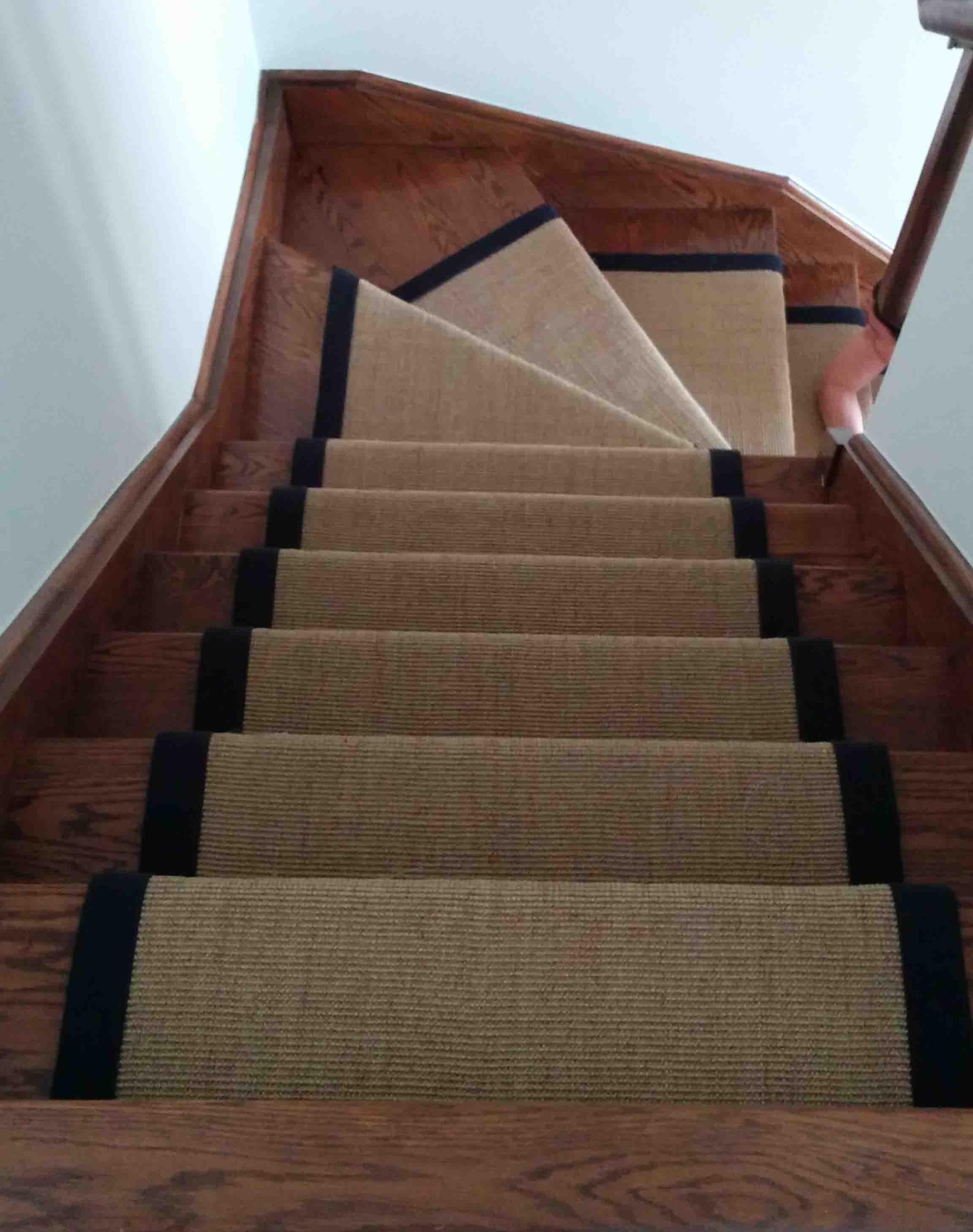 Natural sisal Carpet Runner for Stairs Toronto